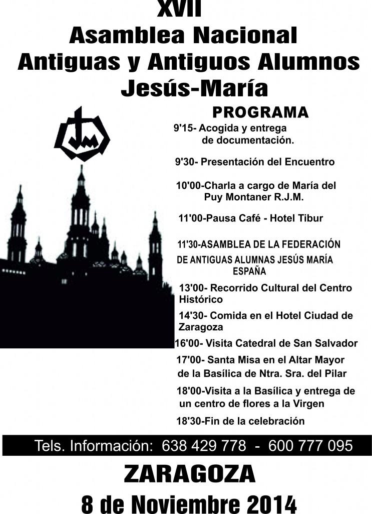 Asamblea Nacional de Antiguos Alumnos en Zaragoza